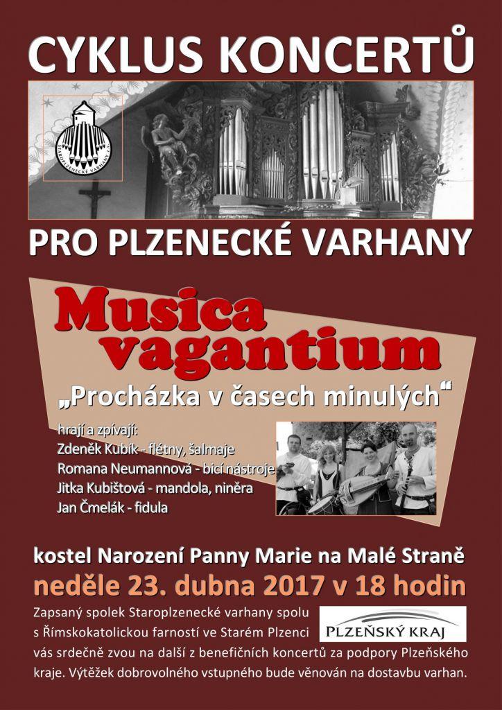 Musica vagantinum - plakát