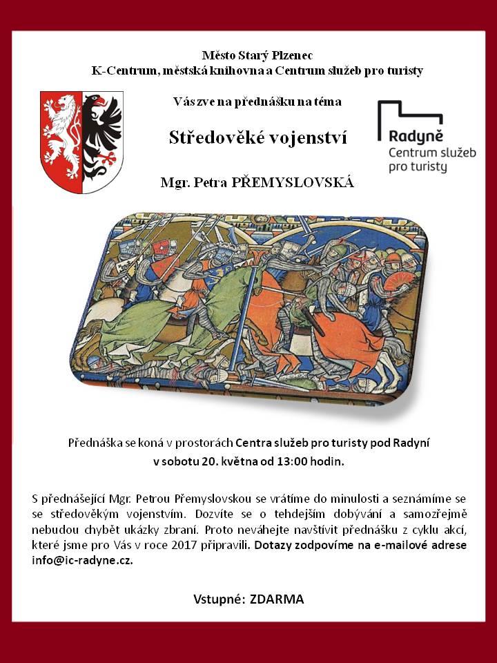Přednáška středověké vojensví_plakát