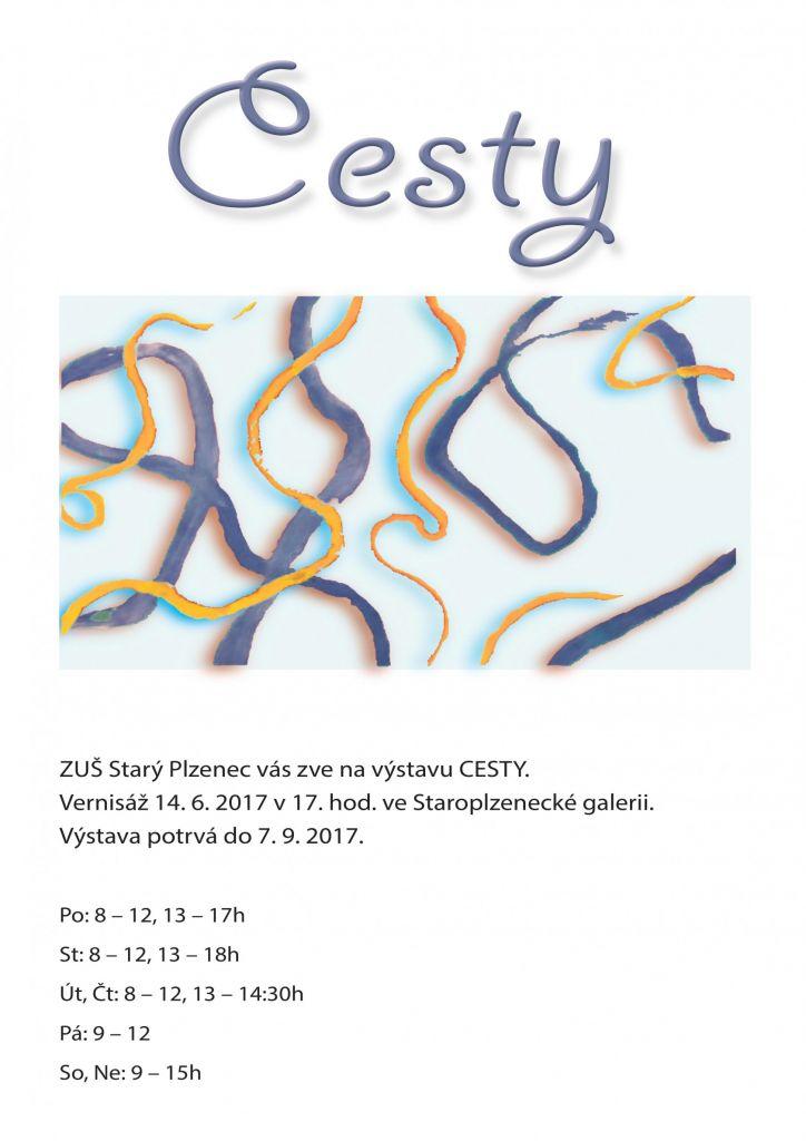 Výstava ZUŠ_plakát