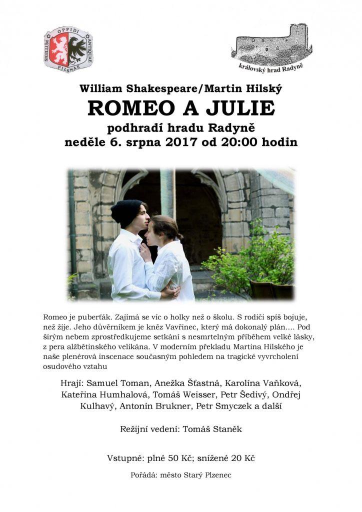 Romeo a Julie_plakát