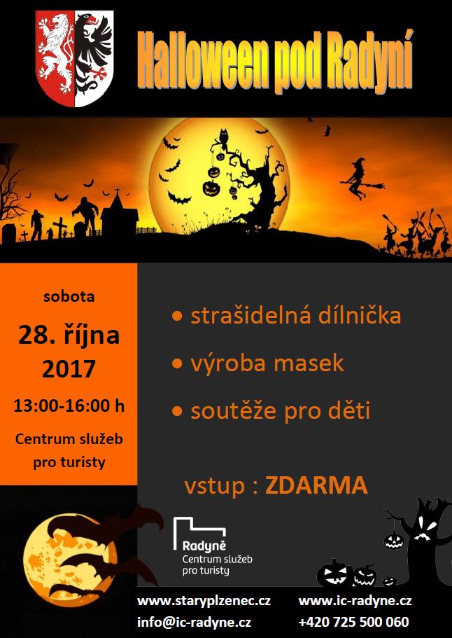 Halloween pod Radyní