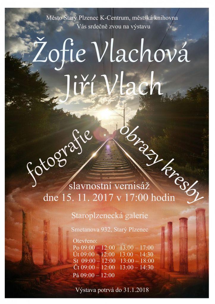 Jiří Vlach - obrazy, kresby,grafika a Žofie Vlachová - fotografie 1