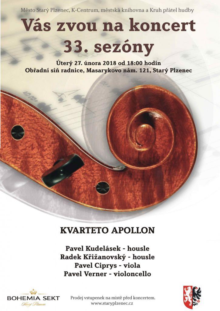 plakát_koncert Apollon kvartet