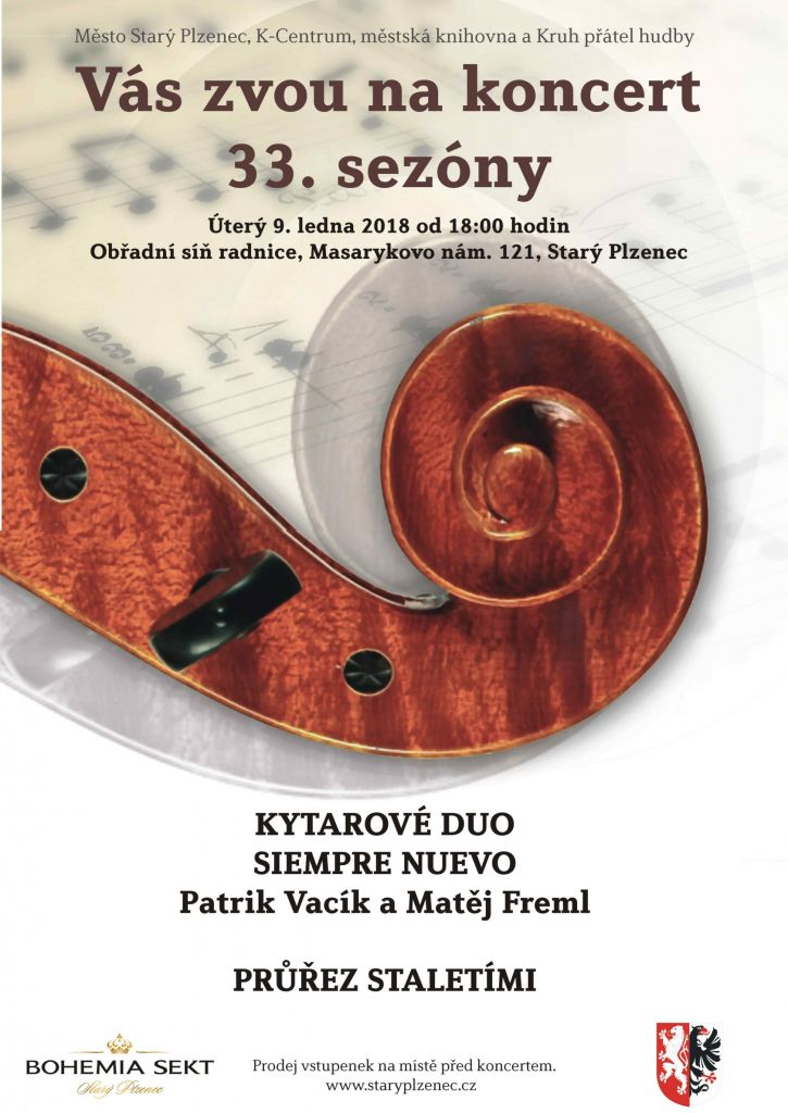 plakát_koncert Duo Siempre Nuevo