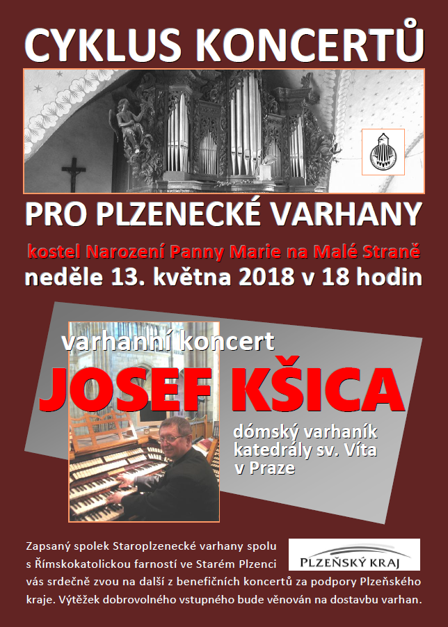 Josef Kšica koncert 13.5.2018