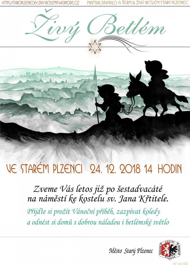 Živý Betlém_plakát
