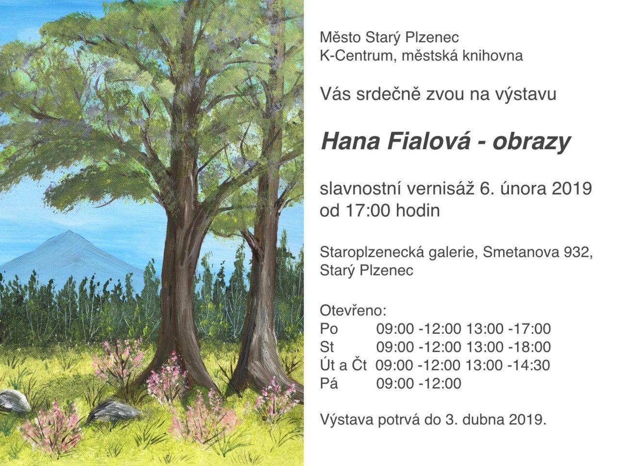 Hana Fialová obrazy