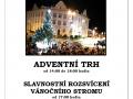 Rozsvícení vánočního stromu a adventní trh 1