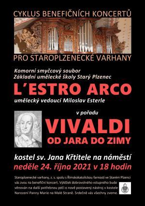 L'estro arco - koncert pro Staroplzenecké varhany 1