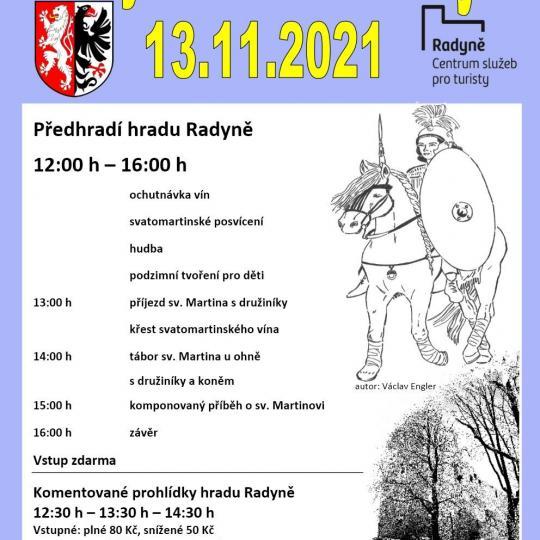 Svatý Martin na Radyni_plakát